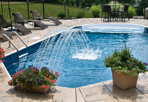 Rain Arc - Swimming Pool Water Features
