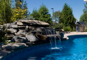 Waterfalls - Swimming Pool Water Features